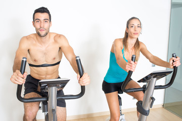 spinning exercise