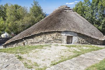 Palloza in O Cebreiro - Galicia Spain