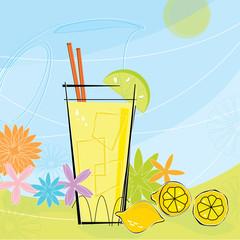 Retro Summer Lemonade