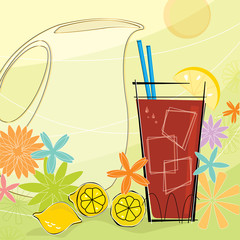 Retro Summer Refreshment
