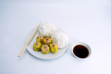 Chinese steamed buns and cakes 001