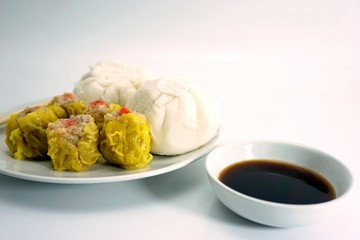 Chinese steamed buns and cakes 002