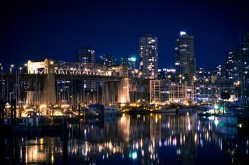 False Creek City Night View
