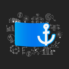Drawing business formulas: anchor