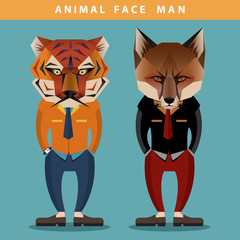 Animal Face Man