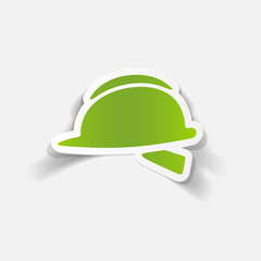 realistic design element: helmet