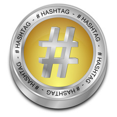 Hashtag Button