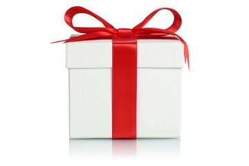 Geschenk mit Band für Weihnachtsgeschenke, Geburtstag oder Vale