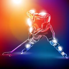 hokej wektor