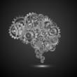 brain gear.vector