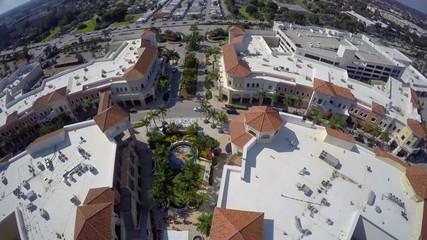 Gulfstream Park Hallandale aerial video
