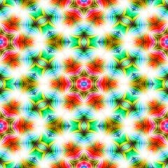 Kaleidoscope seamless abstract colorful background.
