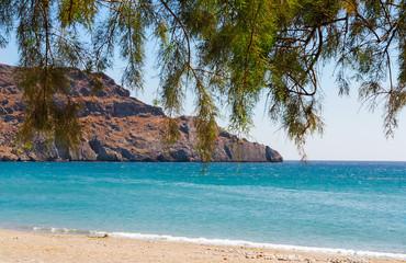 Landscape with sea views. The Island Of Crete, Greece.