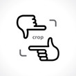 cropping hands - 73823356
