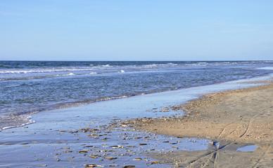 Am Strand von Dänemark