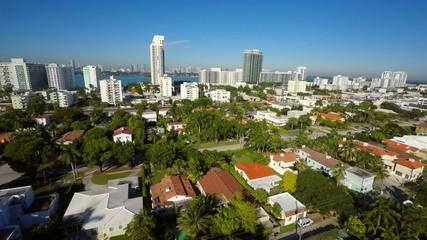 Miami Beach aerial flyover