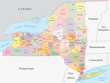 new york state administrative map