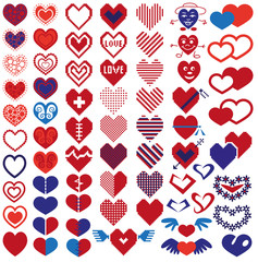 heart different icons