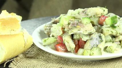 Homemade Herring Salad (loopable)
