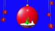 Obrazy na płótnie, fototapety, zdjęcia, fotoobrazy drukowane : A Christmas tale.The decoration.Ball red.