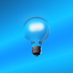 3D glass bulb