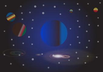 universe sky