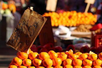 oranges ta the market