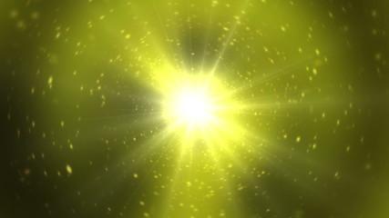 Explosion Yellow Stars