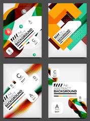 Set of Flyer Templates, Business Web Layouts