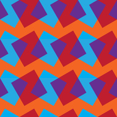 Vector seamless pattern with color rectangles.
