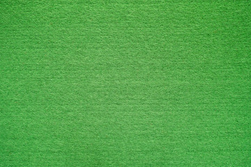 Green felt background