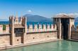 Castello Scaligero, built in XIV century, Lake Garda, Sirmione,