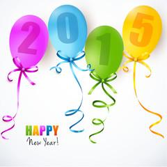 Bunte Luftballons 2015
