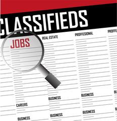 Job classifieds