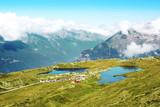 Lac Noir et lac Besson de l' Alpe d' Huez