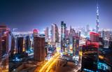 Fototapety Beautiful night cityscape