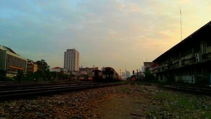 Public Thai Train Railway