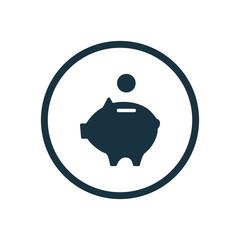 moneybox piggy icon