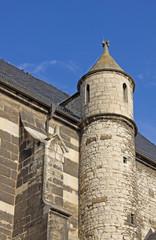 Spätgotische Stadtkirche in Laucha (1496, Sachsen-Anhalt)