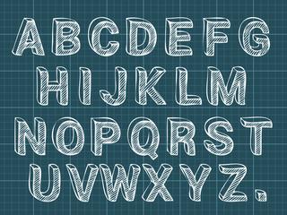 Chalk Letters Font