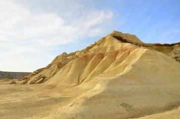 Bardenas hill