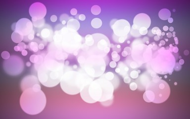 colorful purple holiday bokeh. Abstract Christmas background