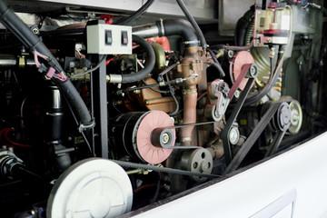 a bus engine