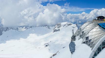 Zugspitze skie mountain, Germany