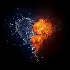 Heart in Fire and Water