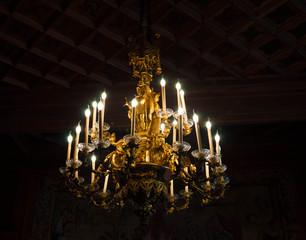 Intérieur du château de pau.