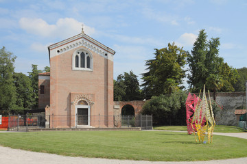 Scrovegni's chapel. Padua, Italy