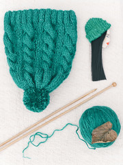 Knitting and spokes