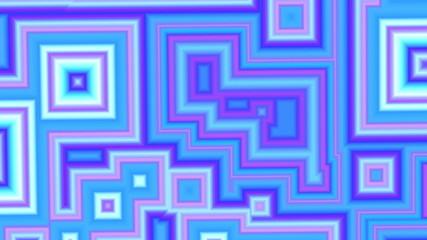 Colorful geometric shapes animation Background
