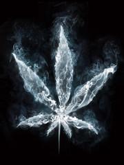 Marijuana in Smoke